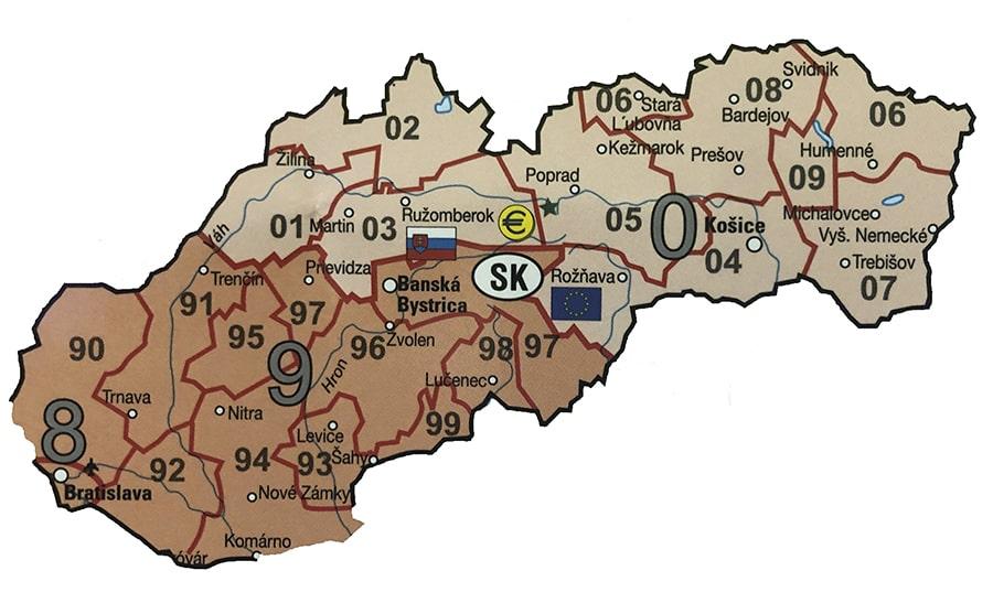 Карта словакии в квадратах стоимость обучения в вузах украины